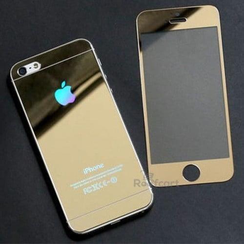 گلس آینه ای پشت و رو موبایل آیفون
