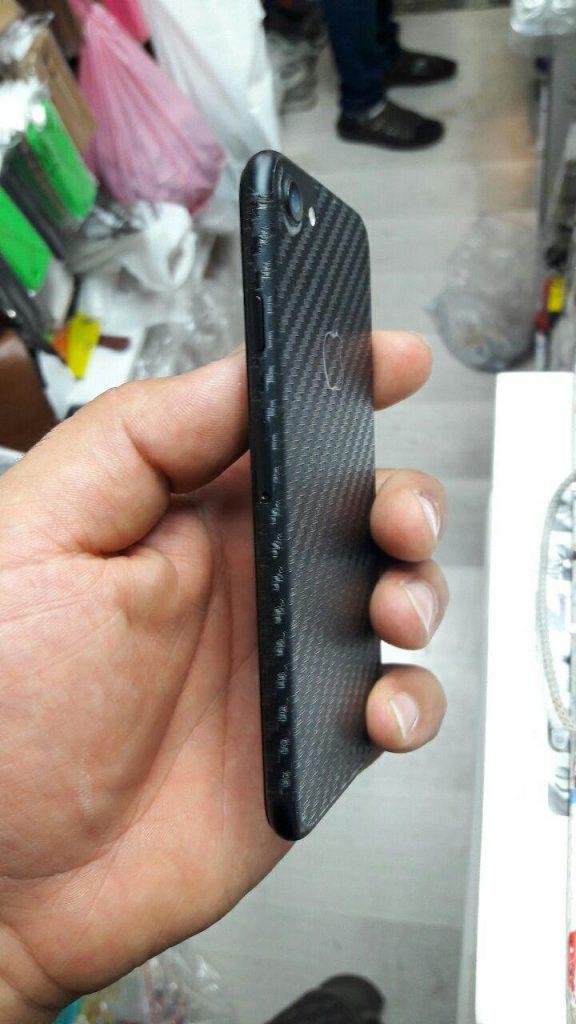 لیبل پشت کربن موبایل سامسونگ