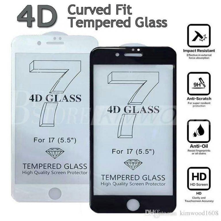 گلس 4D موبایل آیفون (iPhone)