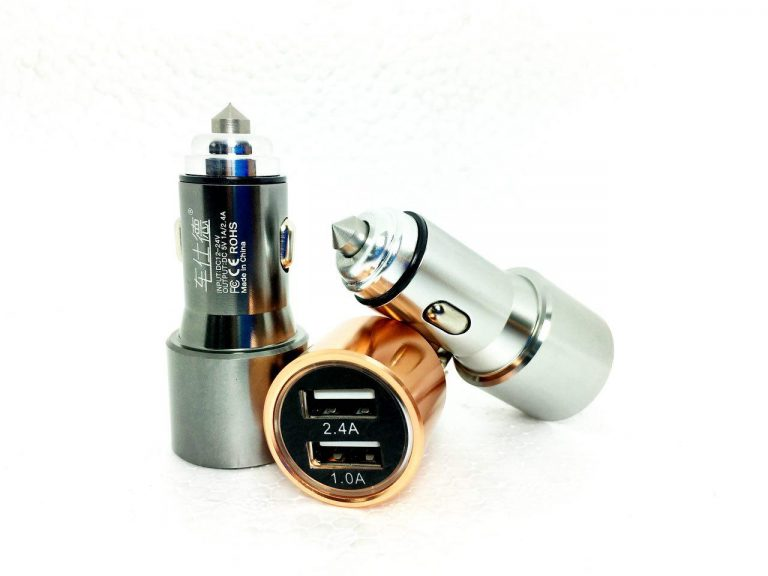 شارژر فندکی فلزی 2.4 آمپر اورجینال
