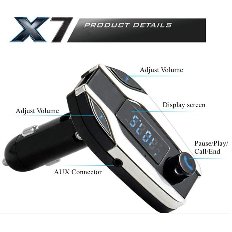 FM Player X7 بلوتوث