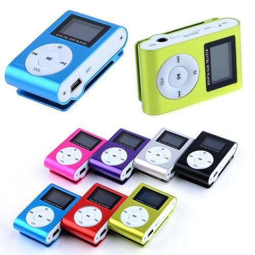 MP3 پلیر مینی رم خور LED دار