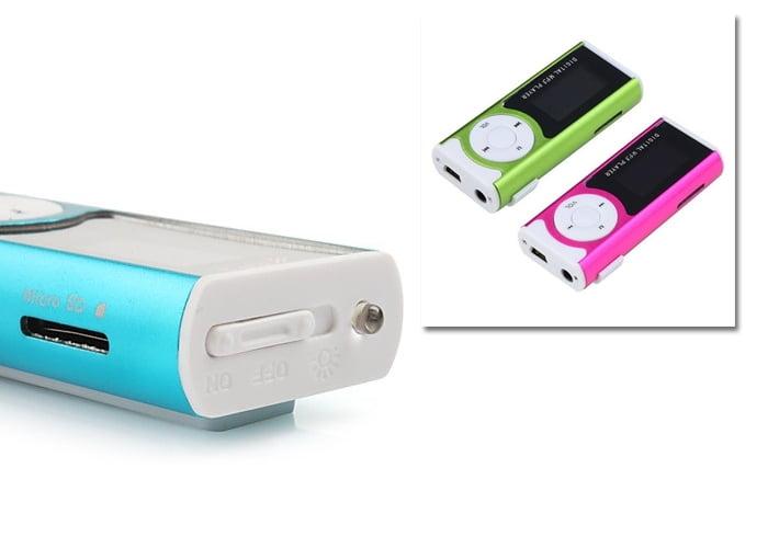 MP3 پلیر بزرگ LED فلاش دار
