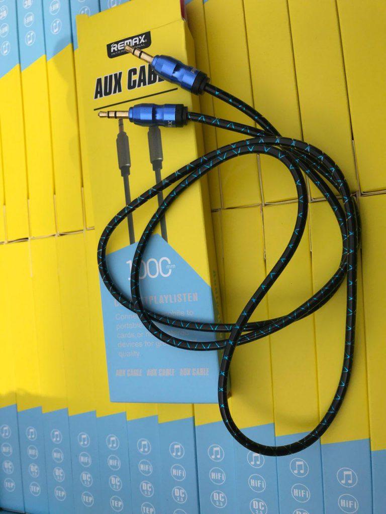کابل 1 متری شبرنگ AUX ریمکس