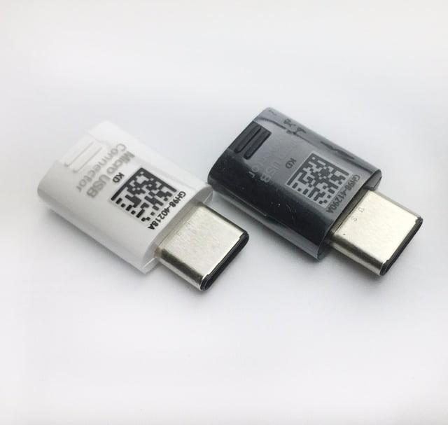 مبدل شارژ S8 اصلی اندروید به تایپ سی