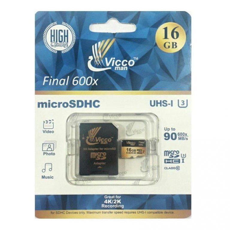 رم میکرو Viccoman U3 90MB 16GB + گارانتی مادام