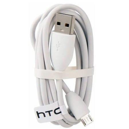 کابل HTC اصلی سفید