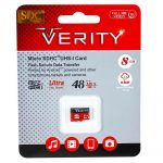 رم میکرو Verity 8G C10 48MB + گارانتی مادام