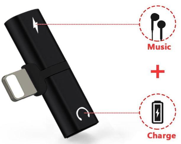 تبدیل خروجی Lighting به صدا و شارژ