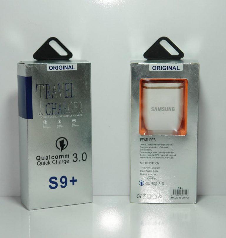 شارژر S9+ سامسونگ فست (MICRO USB)