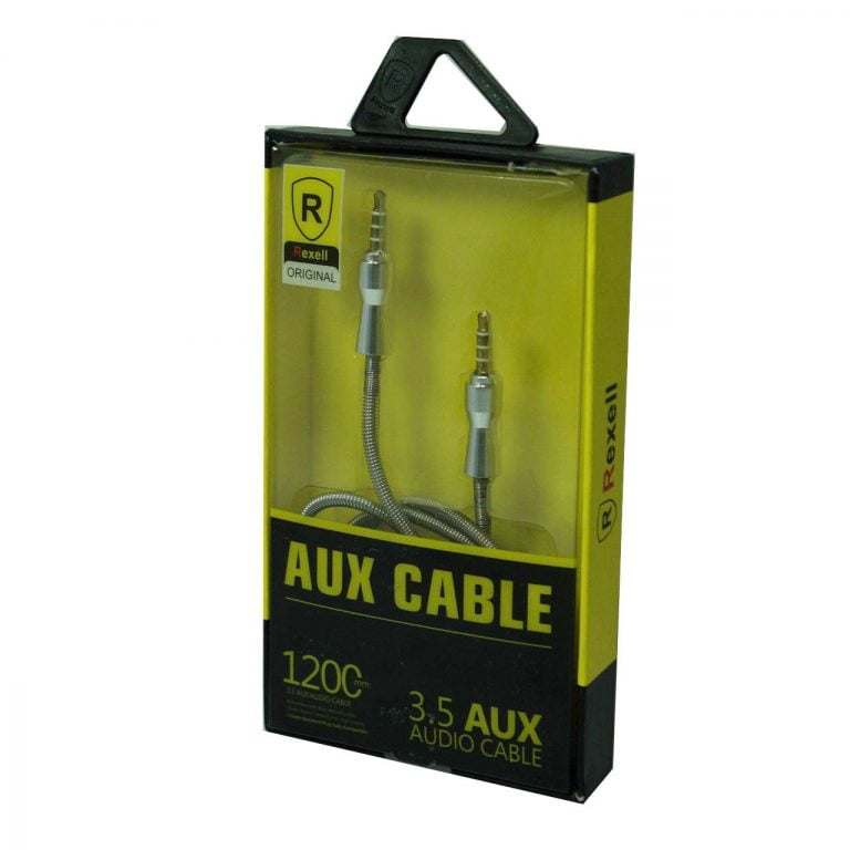 کابل AUX فول فلزی REXELL