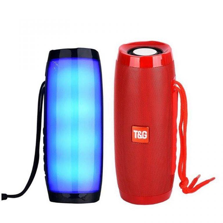 اسپیکر TG157 بلوتوث رقص نور دار (کیفیت صدا عالی)