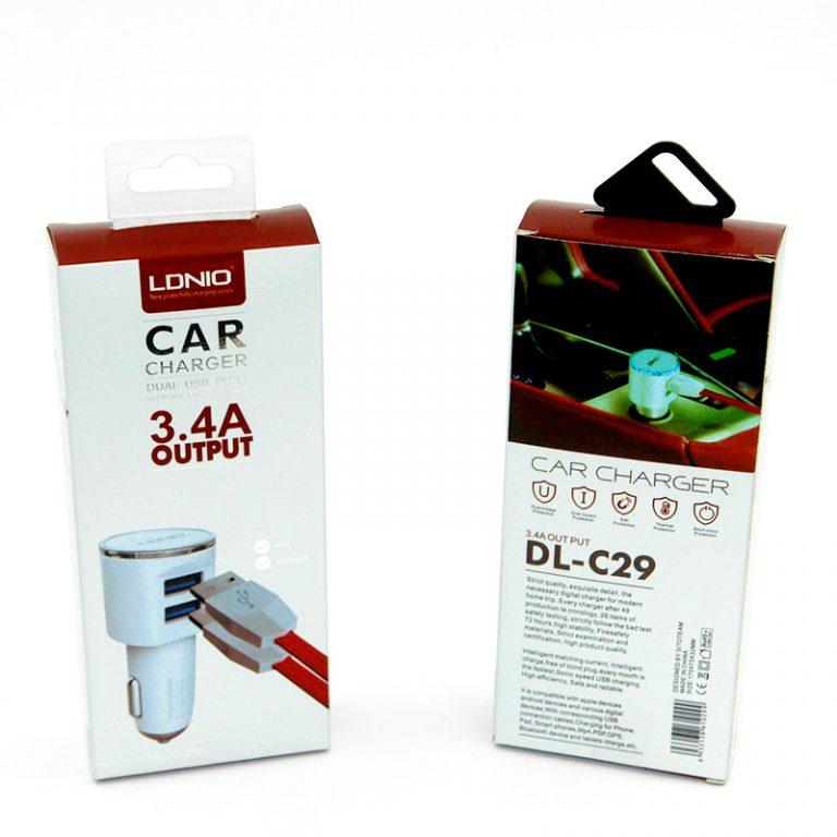 شارژر فندکی C29 LDNIO (های کپی)