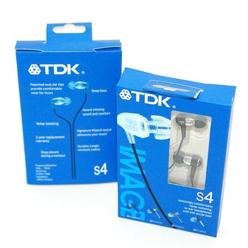 هندزفری TDK مدل S4 پکدار (کیفیت عالی)