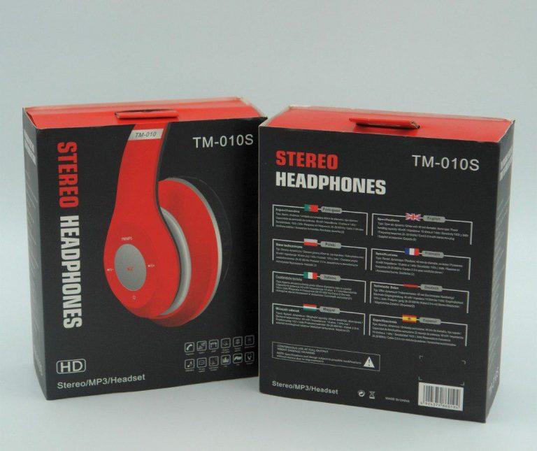 هدفون بلوتوث مدل TM-010S