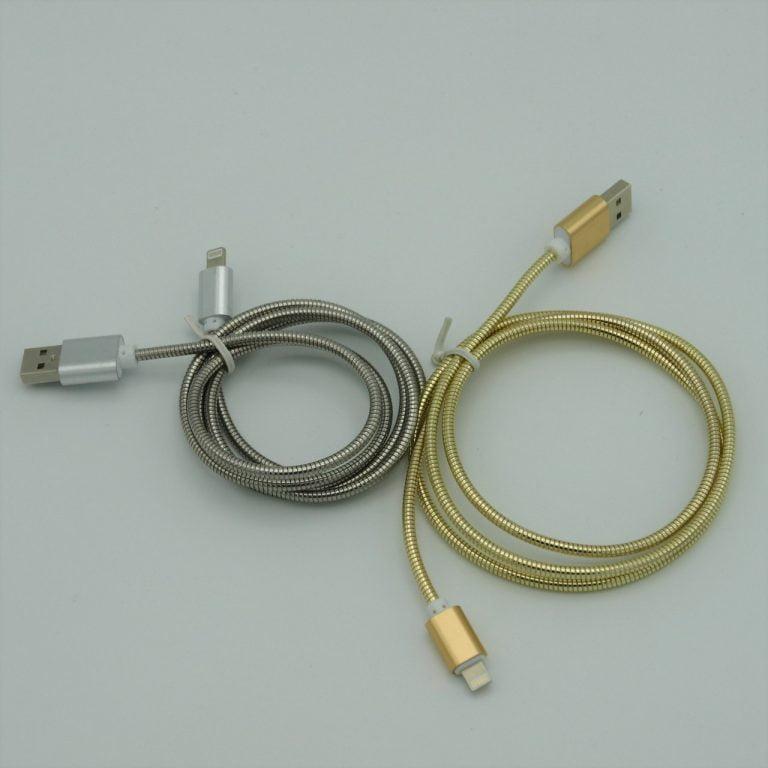 کابل فول فلزی فست شارژ  آیفون (اورجینال)