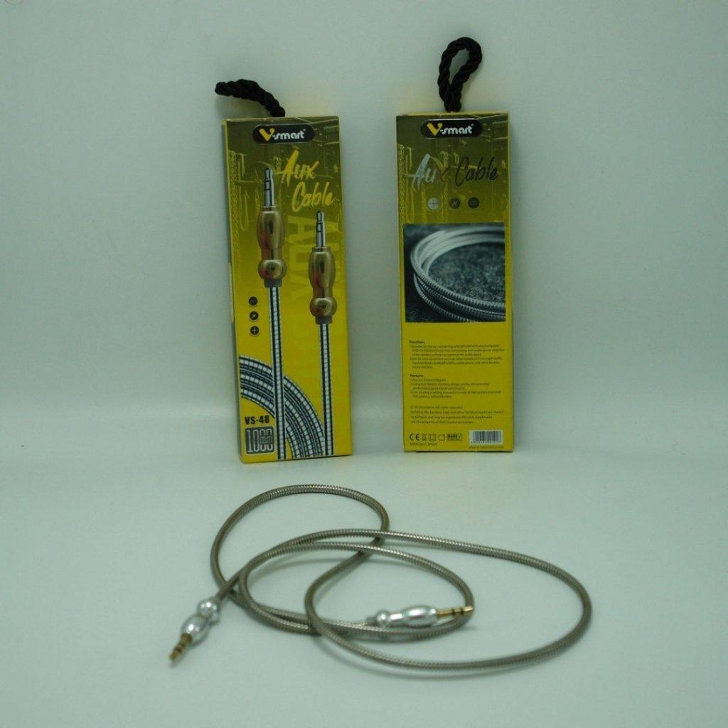 کابل AUX فول فلزی V SMART مدل VS-48