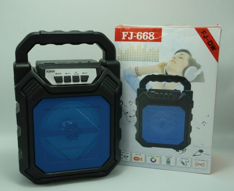 اسپیکر FJ-668 بلوتوث قابل حمل