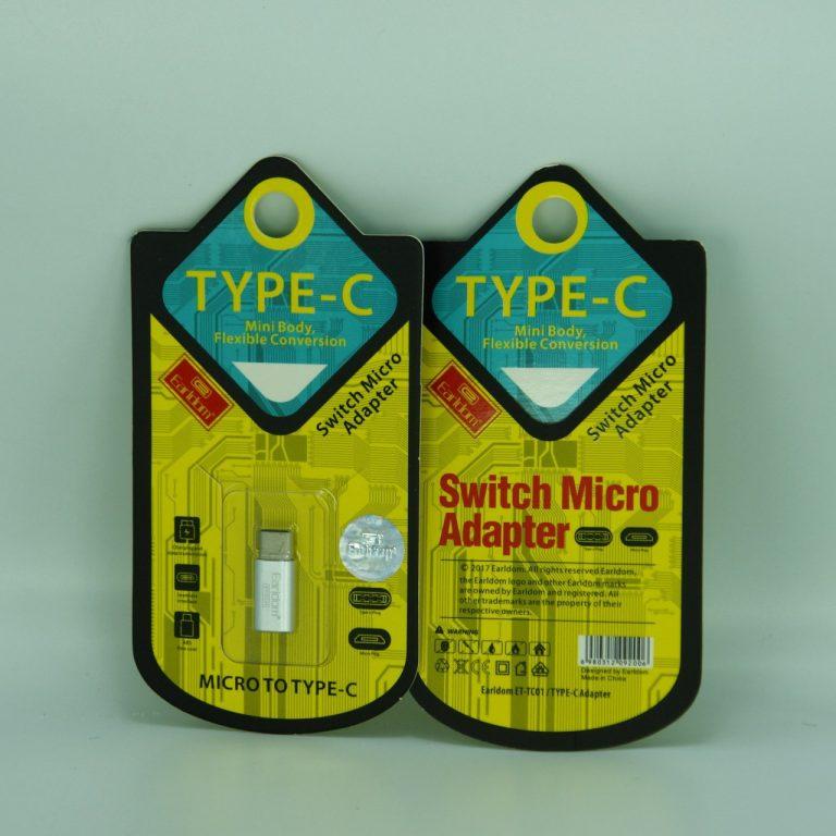 تبدیل Micro به TYPE-C برند EARLDOM