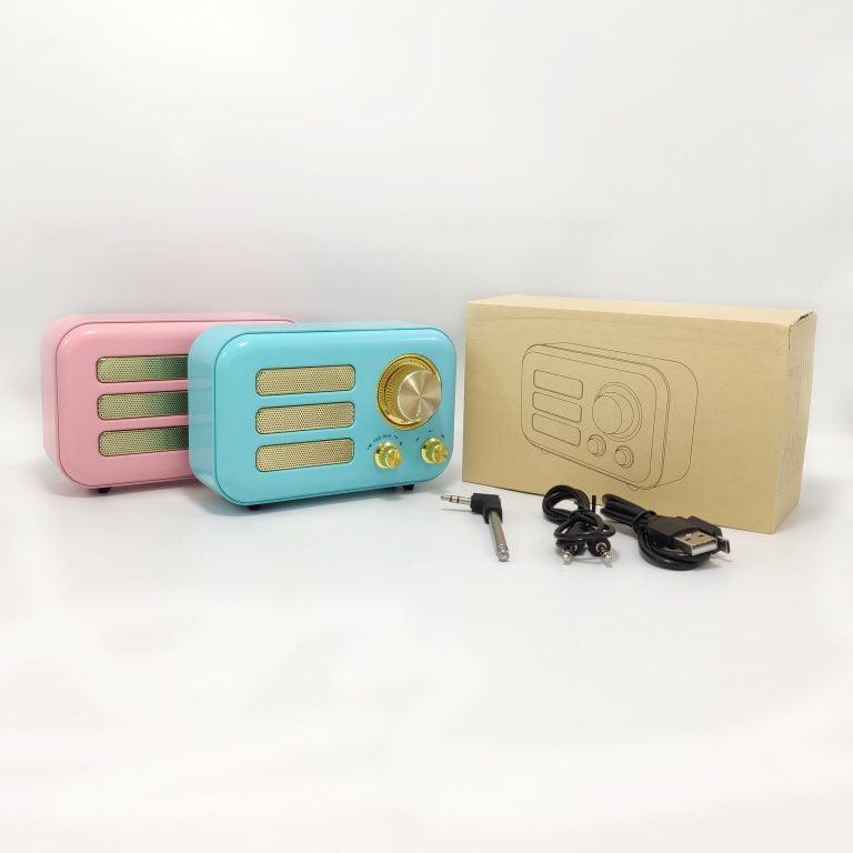 اسپیکر بلوتوث طرح رادیو مینی