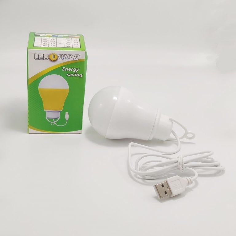 لامپ LED USB پکدار
