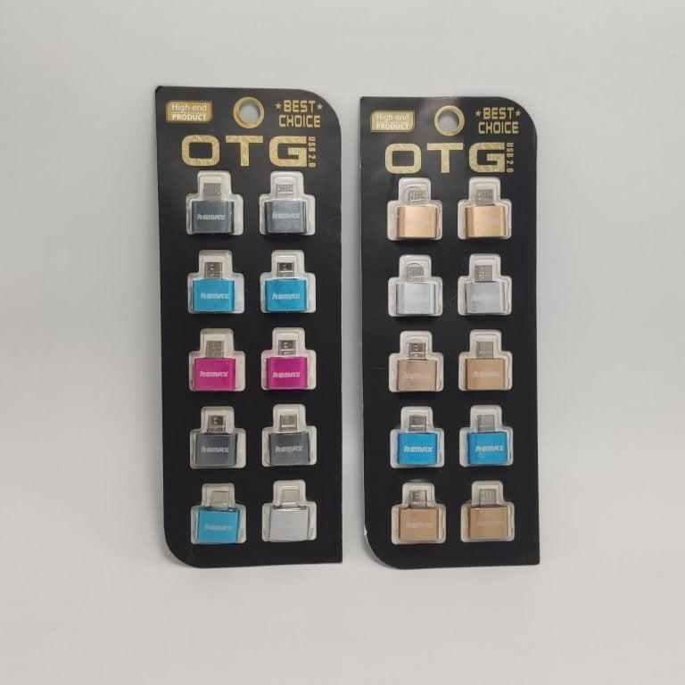 رابط OTG فلزی پک 10 عددی REMAX