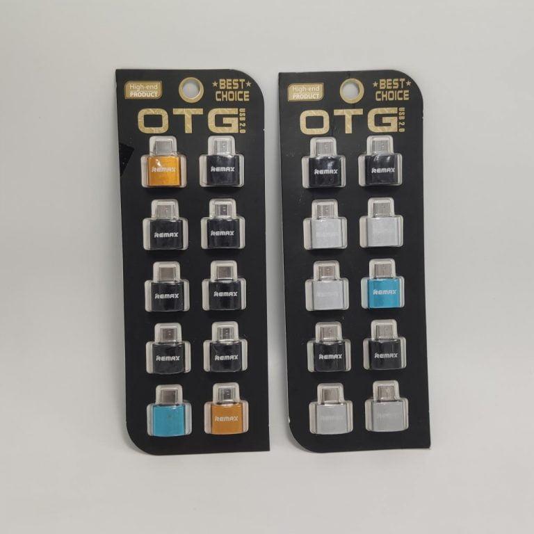 رابط OTG TYPEC فلزی پک 10 عددی REMAX