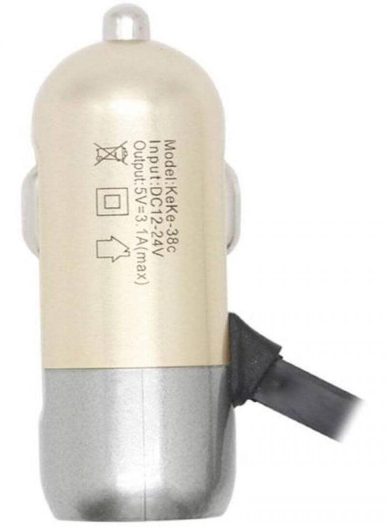 شارژر فندکی MICRO مدل USBX1