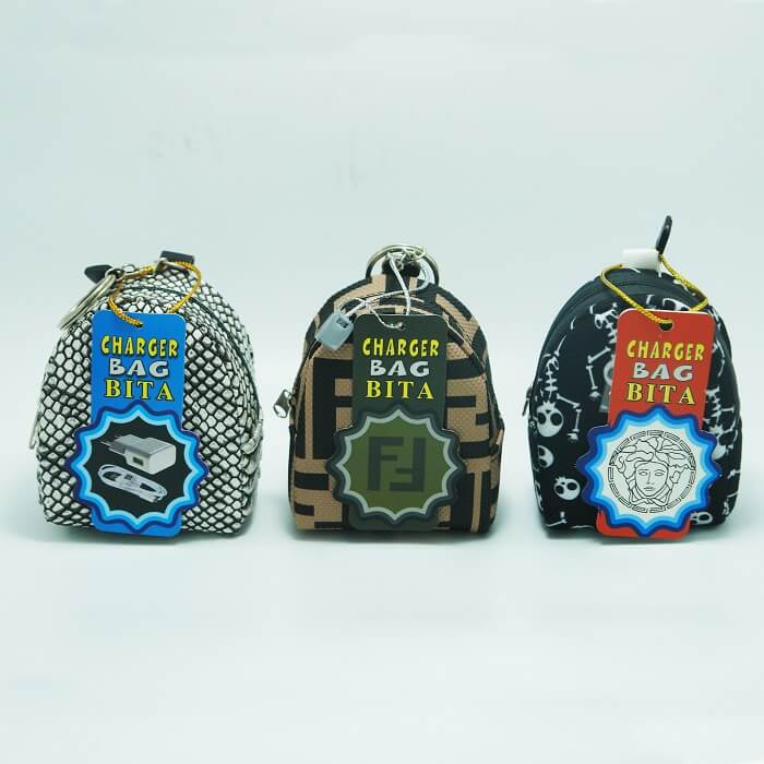 کیف شارژر طرح دار جور