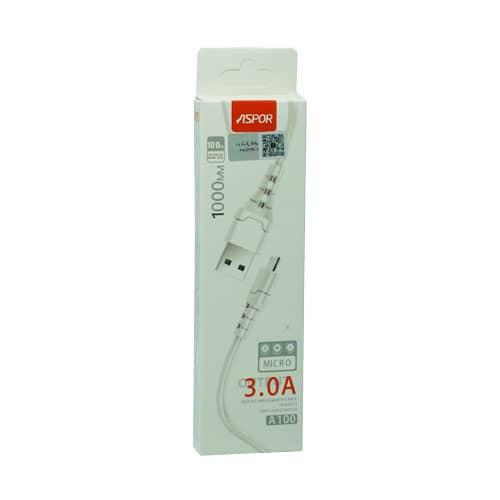 کابل ASPOR مدل A100 میکرو اورجینال گارانتی شرکتی