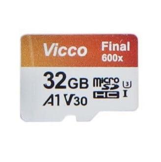 مموری کارت 32 گیگابایت VICCO بدونه خشاب V30