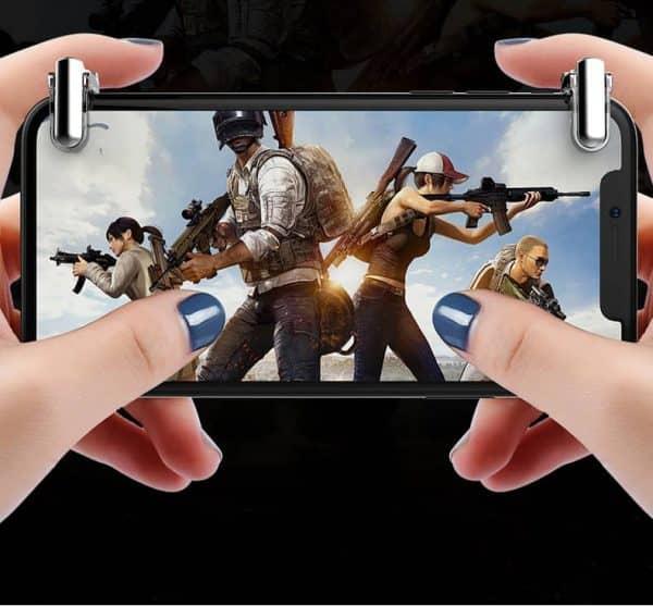 دسته موبایل بازی PUBG و CALL OF DUTY حسگر لمسی مدل M4