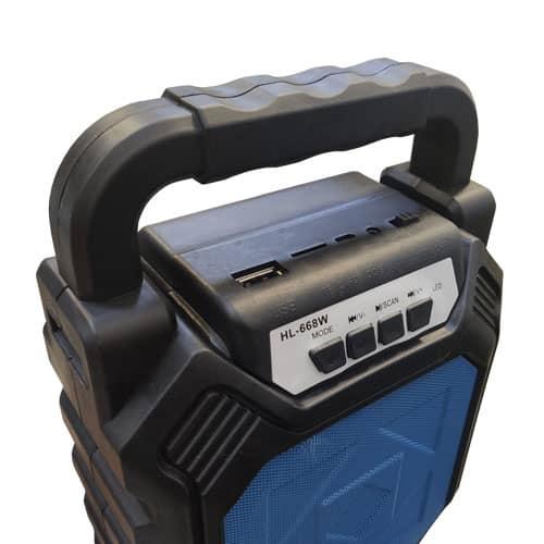 اسپیکر همراه HL668W بلوتوث