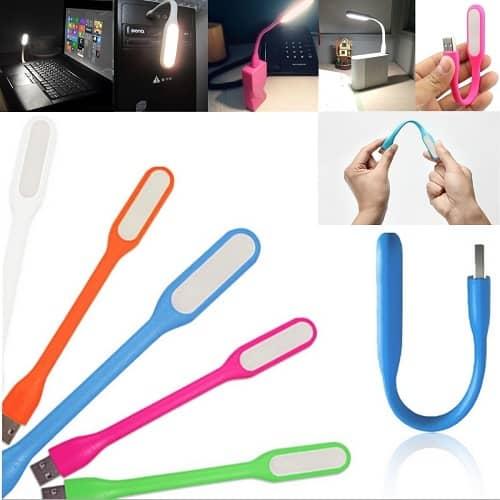 چراغ LED مسواکی USB رنگی