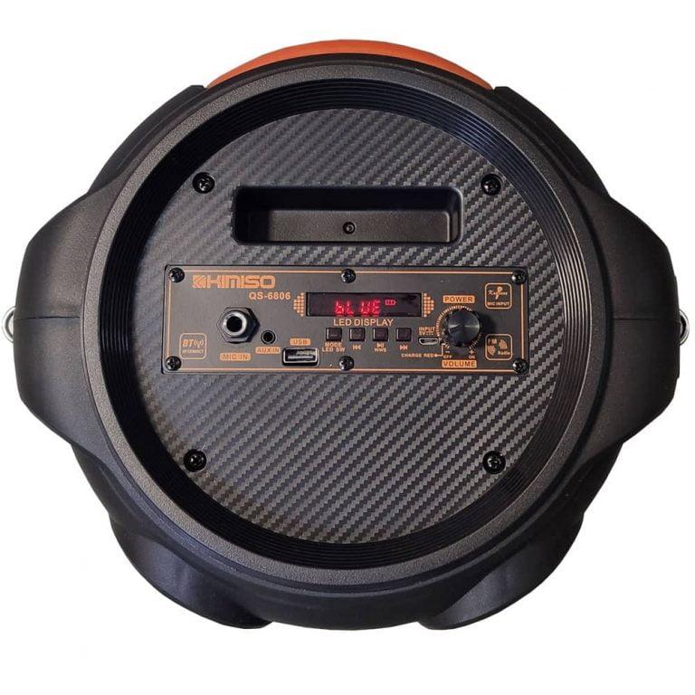 اسپیکر KIMISO مدل QS-6806 میکروفون و رقص نور دار