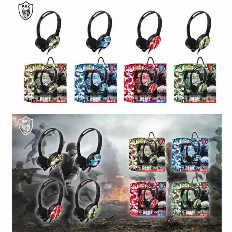 هدفون GM-012 سیمی PC رنگبندی جور
