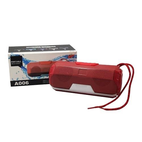 اسپیکر PORTABLE مدل A006 مقاوم و کیفیت صدا بالا