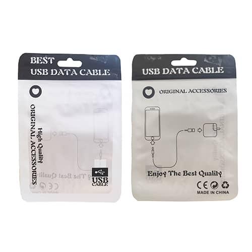 پک زیپ دار سایز 10.5X15 مناسب برای کابل و کلگی