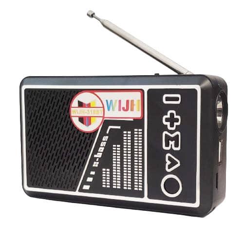 اسپیکر رادیو ویج مدل 318 چراغ دار