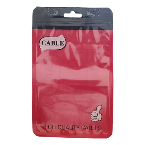 پک زیپ دار سایز 11X18 مناسب برای کابل و کلگی