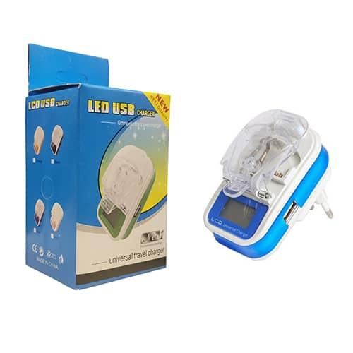 شارژر خرچنگی LED دار طرح NEW