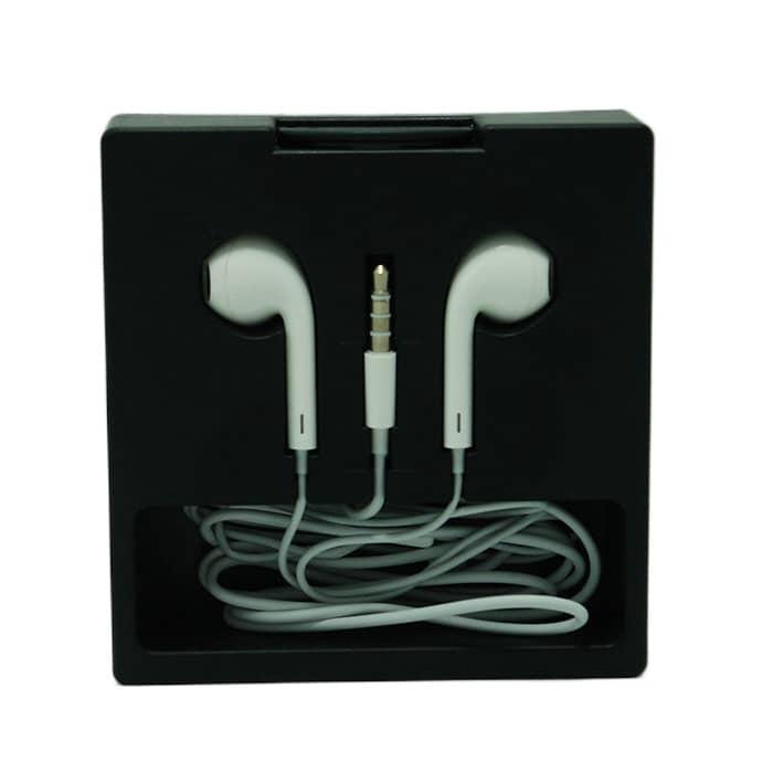 هندزفری طرح آیفون جعبه ای کیفیت صدا فوق العاده مدل M80