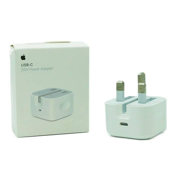 کلگی اپل USB-C 20W سه پین اصل چین