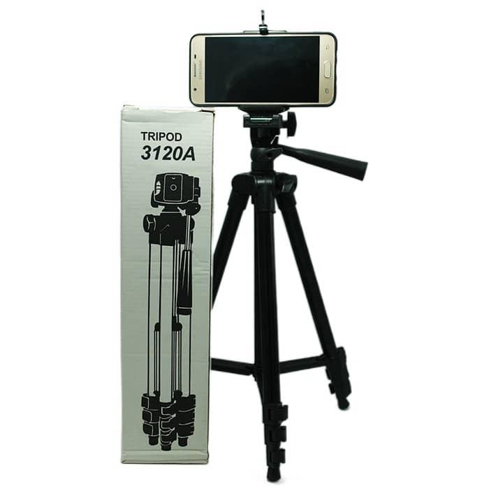 سه پایه نگهدارنده موبایل و دوربین TRIPOD 3120A