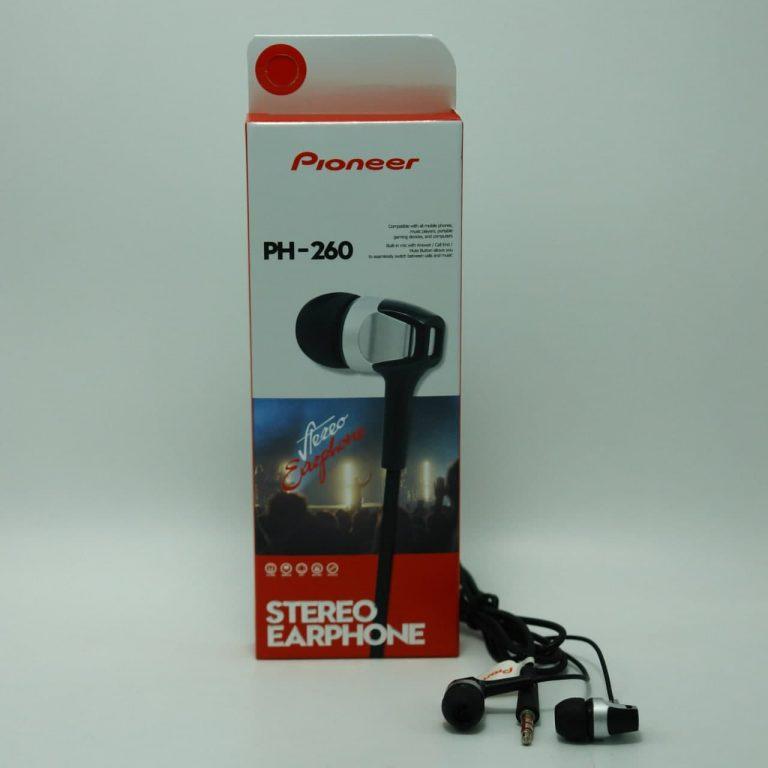 هندزفری پایونیر مدل PH260 اصل چین