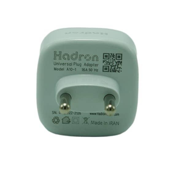 تبدیل برق 3 به 2 هادرون مدل A10 اورجینال گارانتی مادام