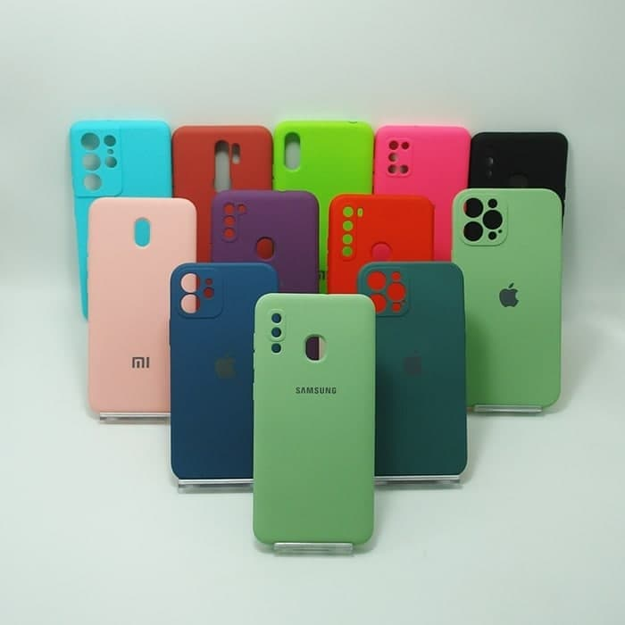 قاب S8 سامسونگ سیلیکونی رنگی