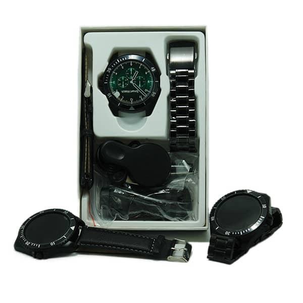 ساعت هوشمند مدل Z27 دارای بند فلزی و چرمی